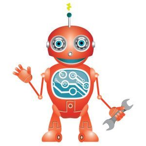 STEM MINDS Mascot STEMBOT