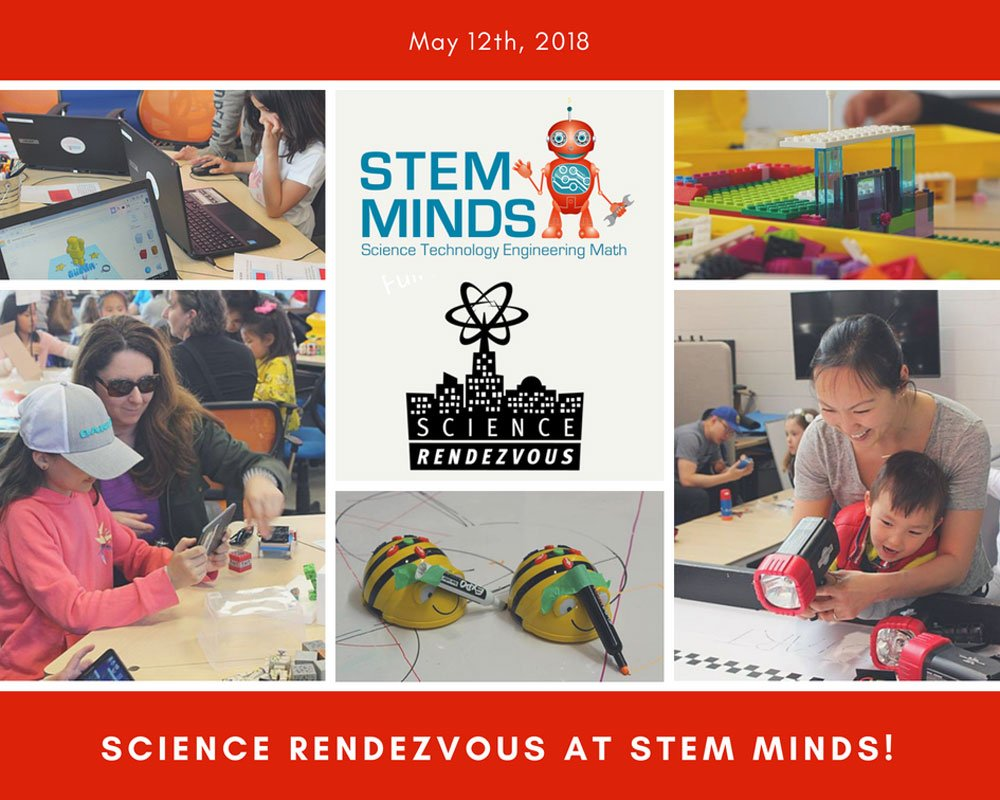 Science Rendezvous at STEM MINDS – May 12th, 2018