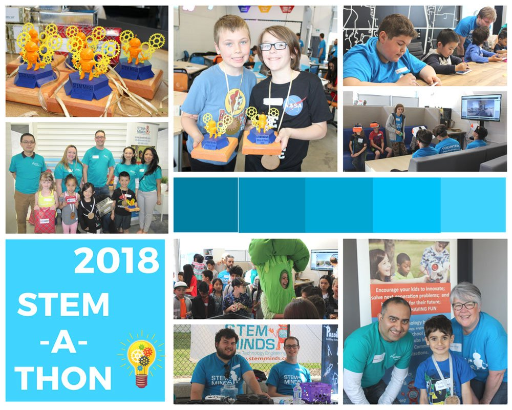 First Annual STEM-a-Thon – May 5th, 2018