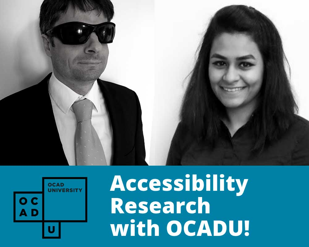 Accessibility Research with OCADU
