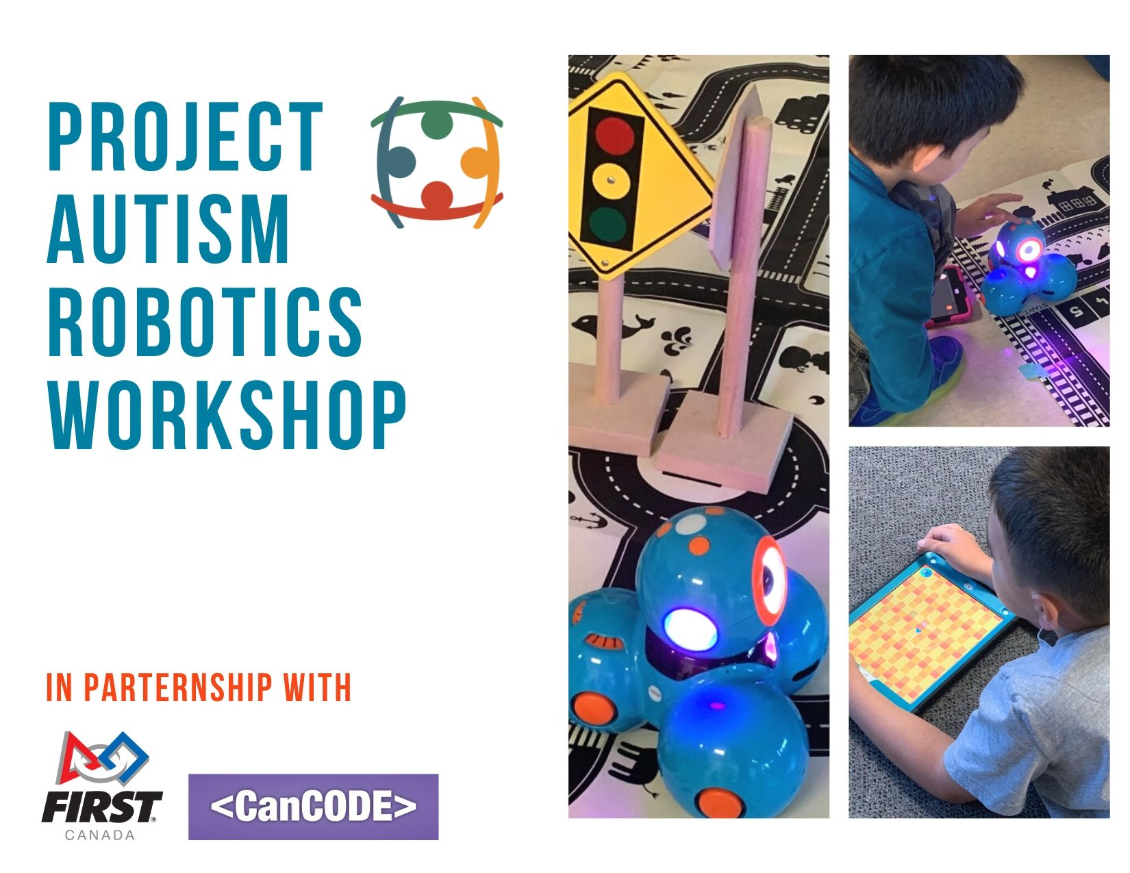 Project Autism Workshops in Partnership with FIRST Robotics Canada