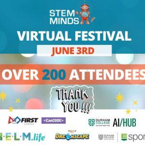 STEM MINDS Virtual STEM Festival – June 2020