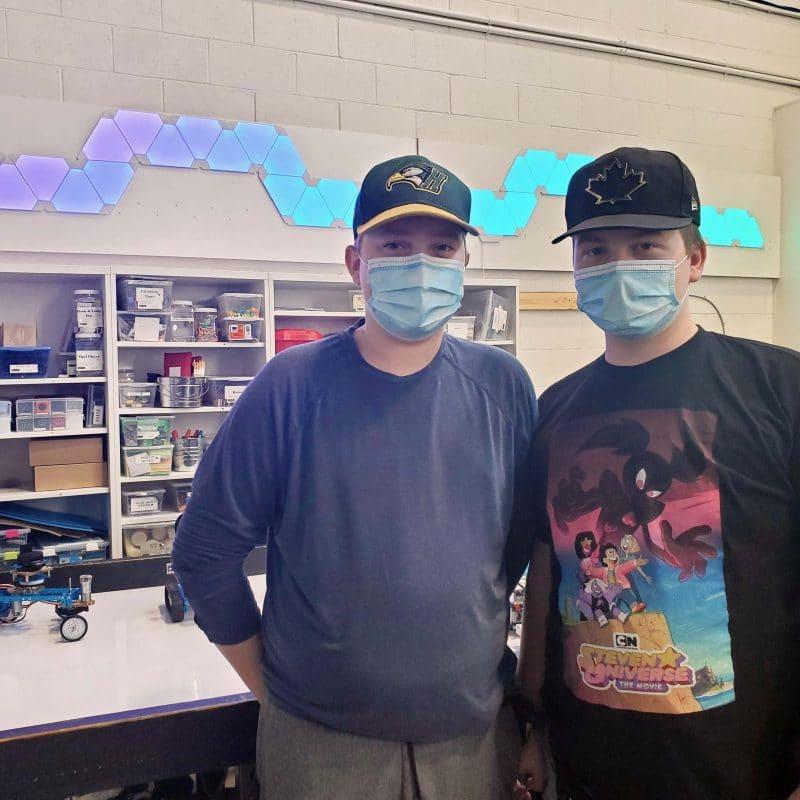 Students in STEM: Josh & Aidan