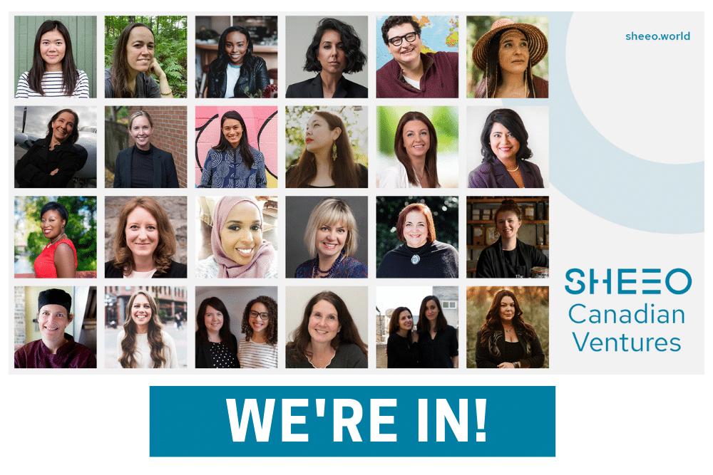 We're IN! SheEO Canadian Ventures of 2020